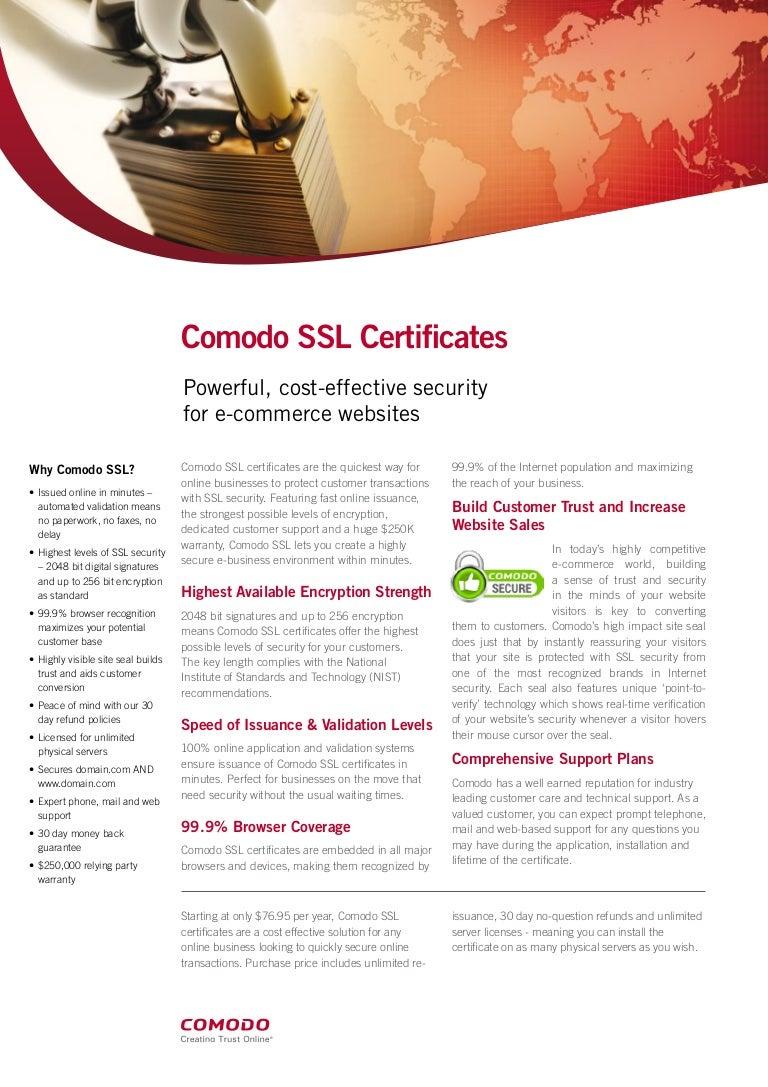 Why comodo ssl certificates for your website 1betcityfo Gallery
