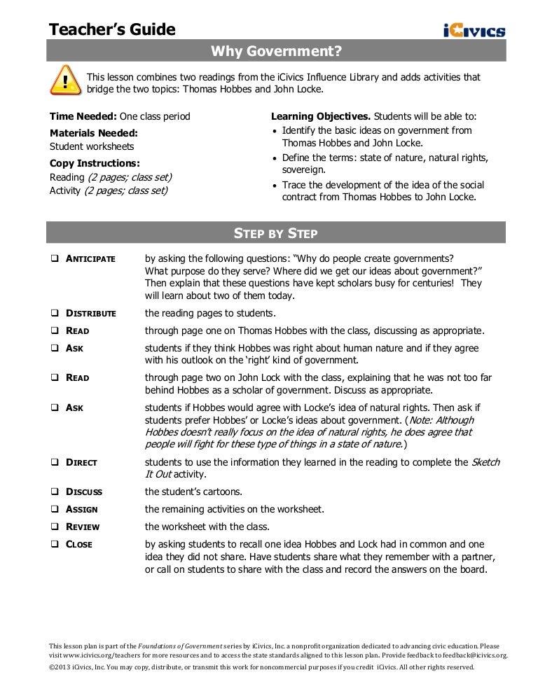 Civics & Government Worksheets & Free Printables   Education.com