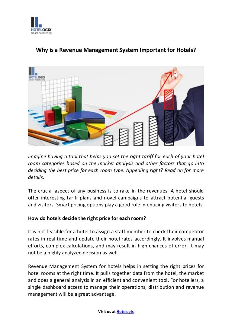 Why is a revenue management system important for hotels?