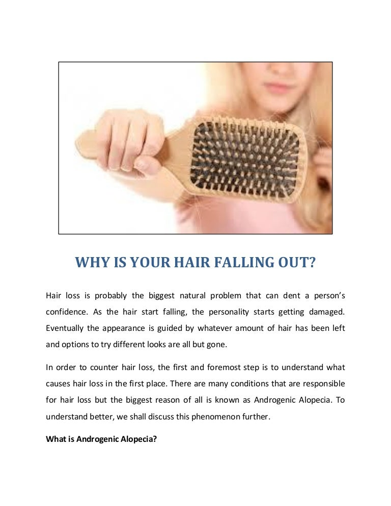 Why Is Your Hair Falling Out?