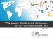 Why Learning Should be the Centerpiece of Your Talent Management Table
