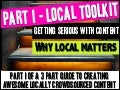 Local Content Toolkit - Part I - Why Local Content Matters