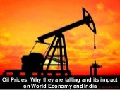 Why oil prices failing