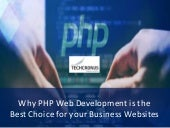 15 Reasons Why PHP Web Development is the Best Choice for Your Business Websites