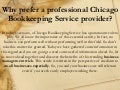 Why prefer a professional chicago bookkeeping service provider