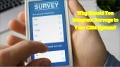 Why should you integrate surveys to your crm system?