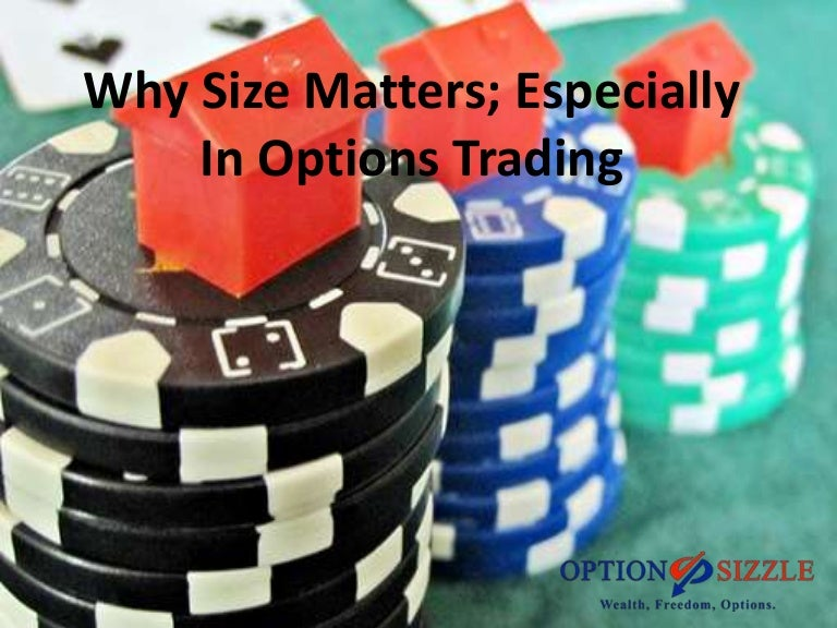 Why some options trade are positive