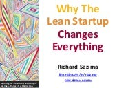 Why The Lean Startup Changes Everything