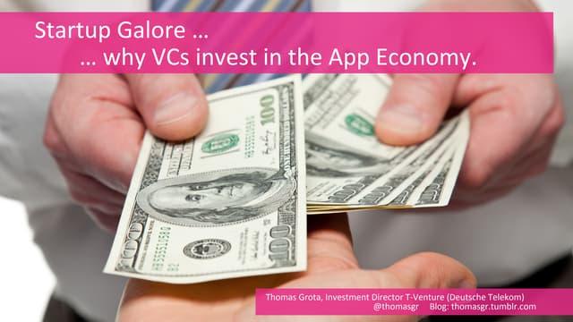Why Venture Capitalists invest in the app economy   T-Ventures Deutsche Telekom