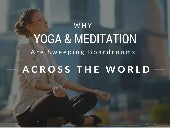 Why Yoga & Meditation Are Sweeping Boardrooms Across the World