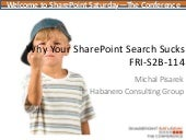 Why Your SharePoint 2010 Search Sucks