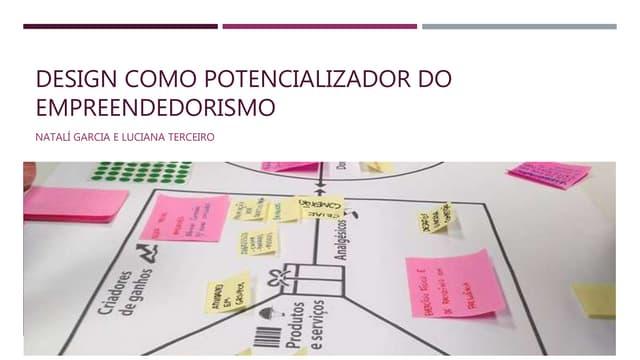 Design como potencializar do empreendedorismo - WIAD 2016