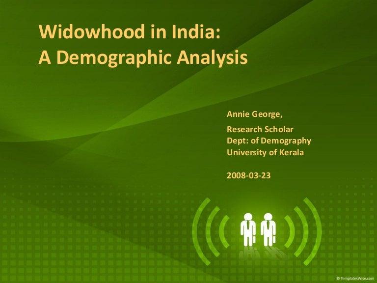 Widowhood In India