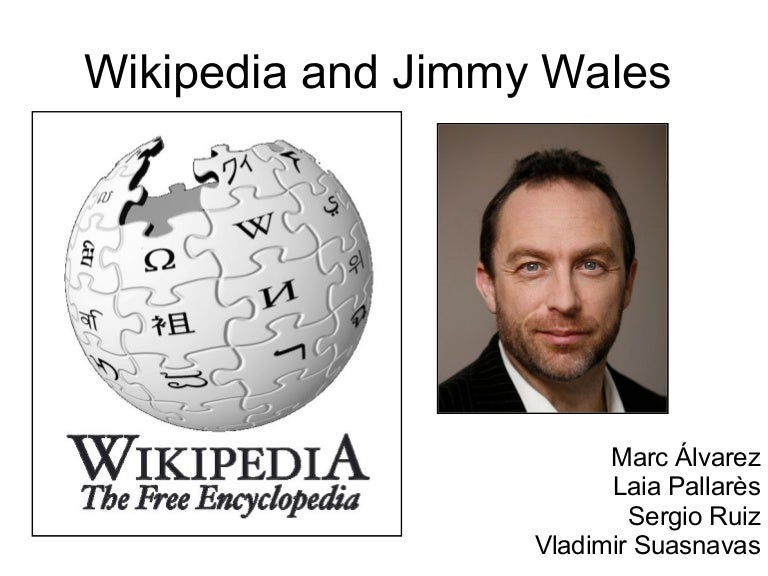 Who is the founder of Wikipedia?