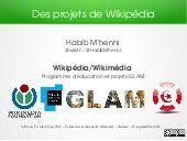 Wikipedia projects