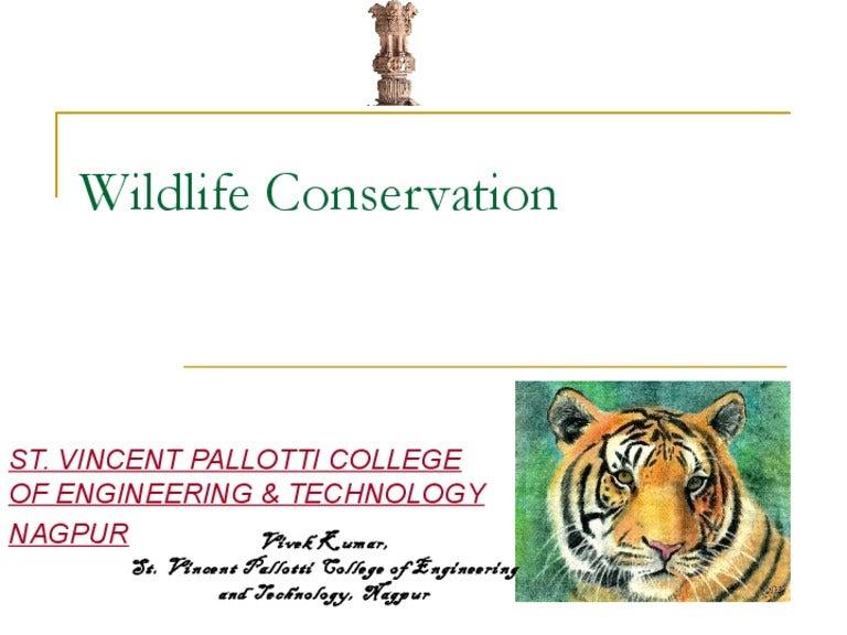 Essay On Wildlife Conservation .