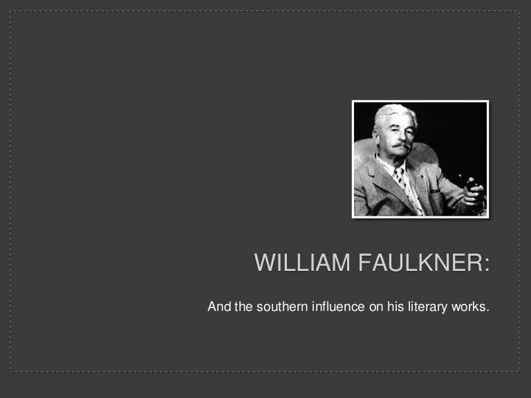 critical essay on william faulkner This journal published by the center of faulkner studies contains articles and essays to assist in the teaching of william faulkner through all levels of schooling contains: criticism keywords: william faulkner, teach, journal, articles.