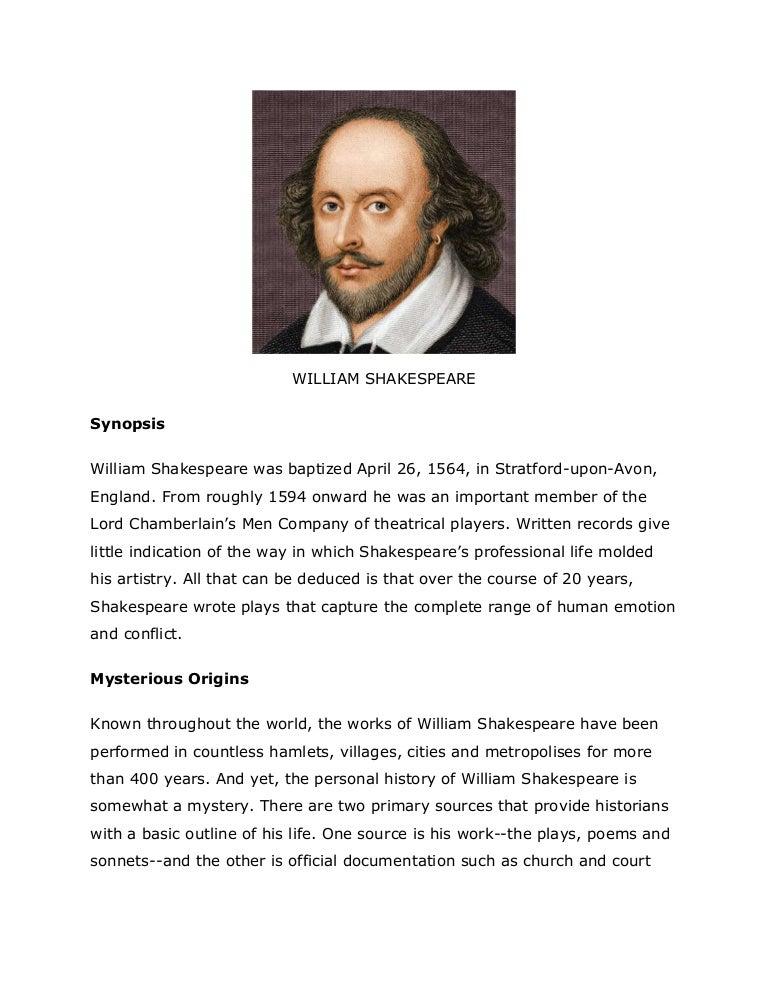 william shakespeare and his works William shakespeare, stratford on avon, united kingdom 16,374,028 likes 13,963 talking about this william shakespeare (april 1564-1616) was an.