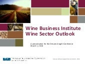 Ontario Wine - Insight Conference, March 1 2016