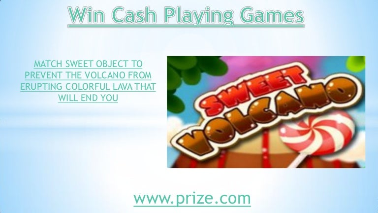 Win Cash Playing Games