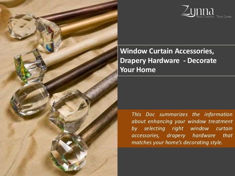 Window Curtain Accessories,Window Rods and Curtains