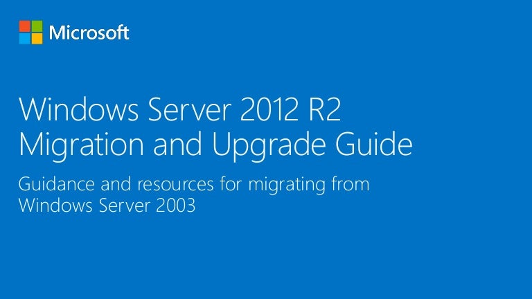 windows 2012 r2  upgrade
