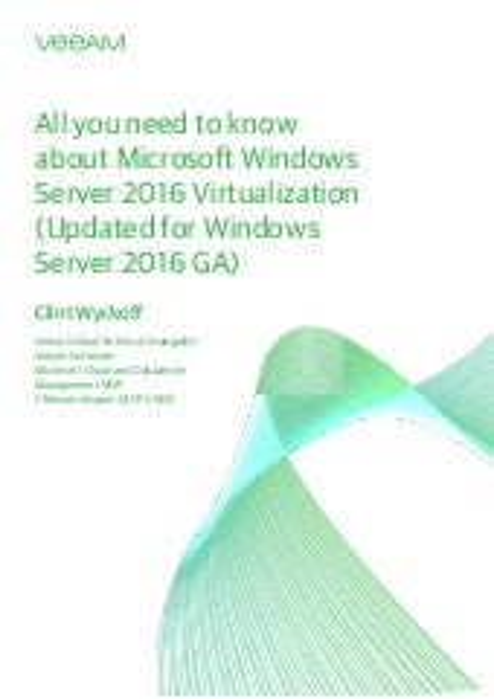 Windows_Server_2016_Virtualization White Paper By Veeam