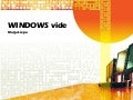 Windows vide