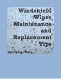 Windshield wiper maintenance tips from Toyota of Orlando