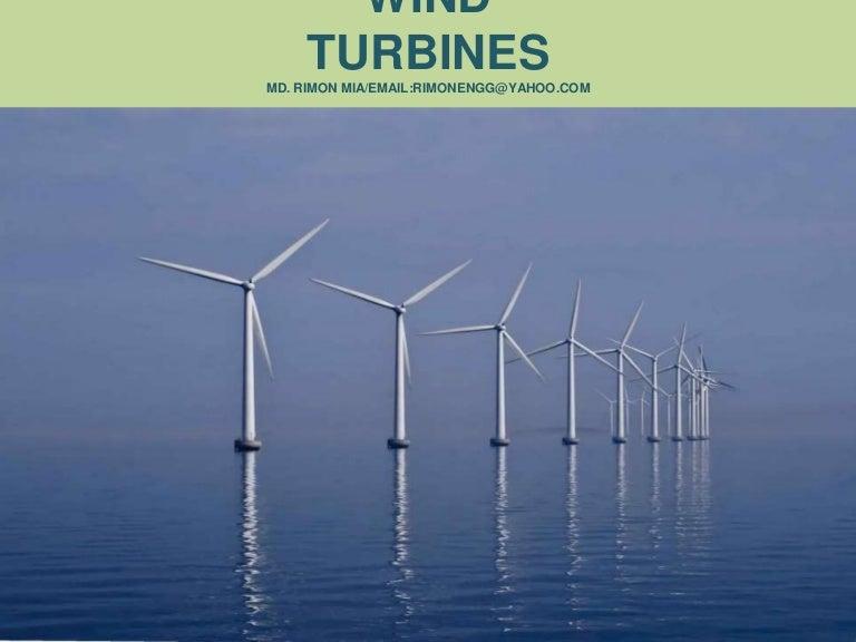 Wind turbines Power Point Presentation