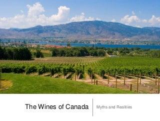 Understanding the wines of Canada