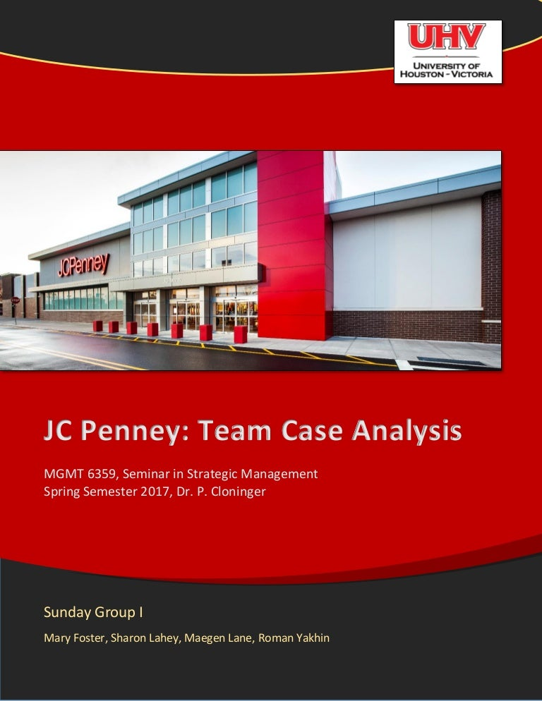 ec5987cfd708 Department store Analysis and Recommendations (JC Penney)