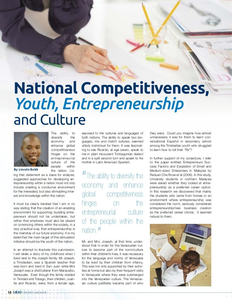 Winnow Consultants and Associates PRESS- National Competitiveness, Y…