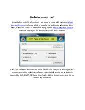 winrar password remover hack tool 2013
