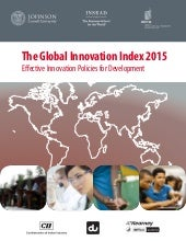 WIPO Global Innovation Index 2015