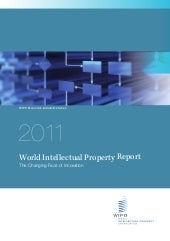 Wipo rapport 2011_innovation