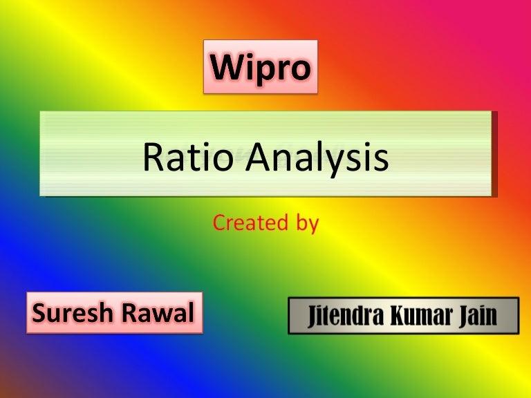 Wipro – Ratio Analysis