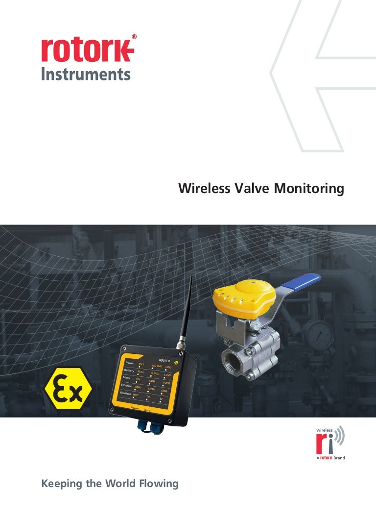 Wireless valve monitoring system from rotork swarovskicordoba Images