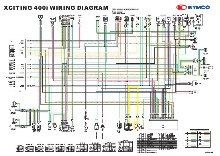 Wiring Schematic Diagram Xciting400i
