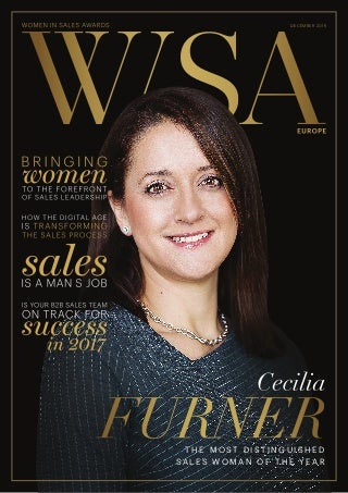 Women In Sales Awards Europe 2016 Magazine