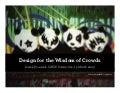 Design for the Wisdom of Crowds by Derek Powazek at SXSW 2009
