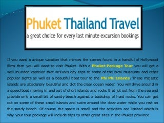 With Siblings, Visit Phi Phi Islands to Get Pulled Towards Natural Surroundings