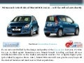Witnessed refurbished maruti ritz 2012 – will be rolled out shortly