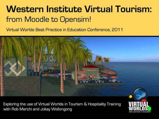 Western Institute Virtual Tourism