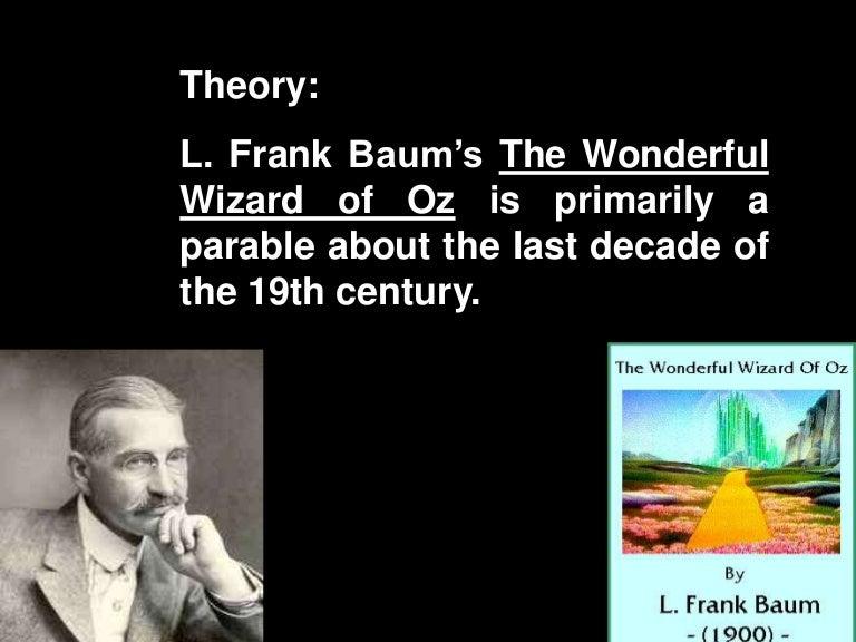 Wizard Of Oz Populism Allegory