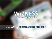 Wizness, Enabling Sustainability Dialogue