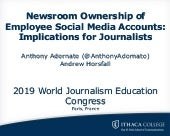 Ownership of Employee Social Media Accounts: Implications for Journalists
