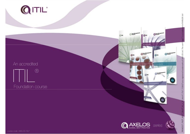 Axelos Itil Foundation