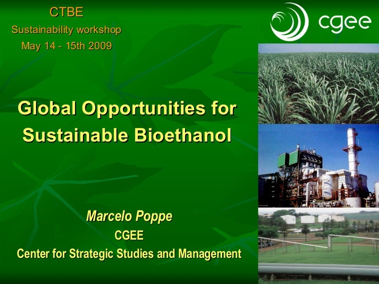 sustainability of bioethanol Bioethanol is the largest player of renewable energy being produced in the usa by strach and in brazil by sugar this process uses the human and animal consumables but now researching are looking for new methods to produce bioethanol by agriculture or forest residues called lignocellulosic material.