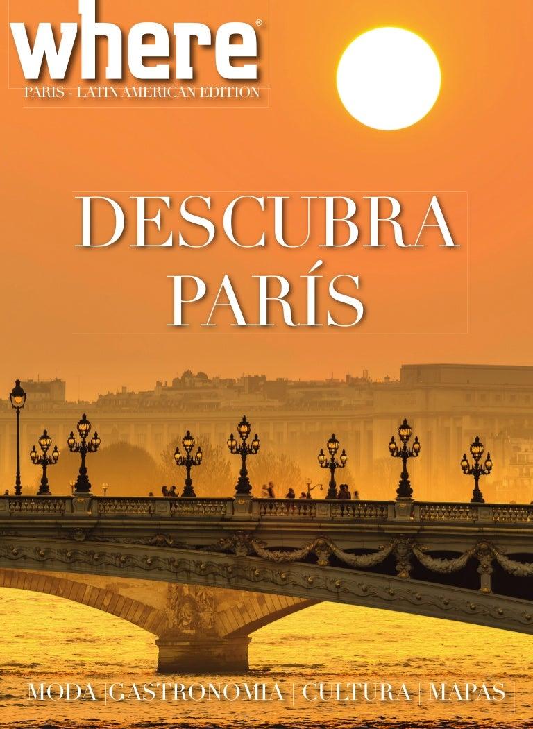 25af1645c0c Where Paris Latin American edition 2015 2016
